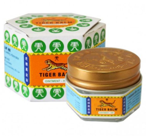 <b>PAIN BALM</B><BR>TIGER BALM - WHITE<br>18 grs