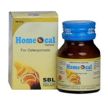 <B>HOMEOCAL - Osteoporosis</B><br> 1 bottle of 25grs - tablets <br> SBL cie