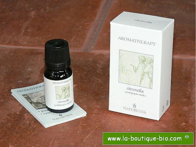 <b>EO - CITRONELLA</B><br>Cymbopogon Nardus<BR>NAT - ORGANIC CULTIVATION<br>10 ml