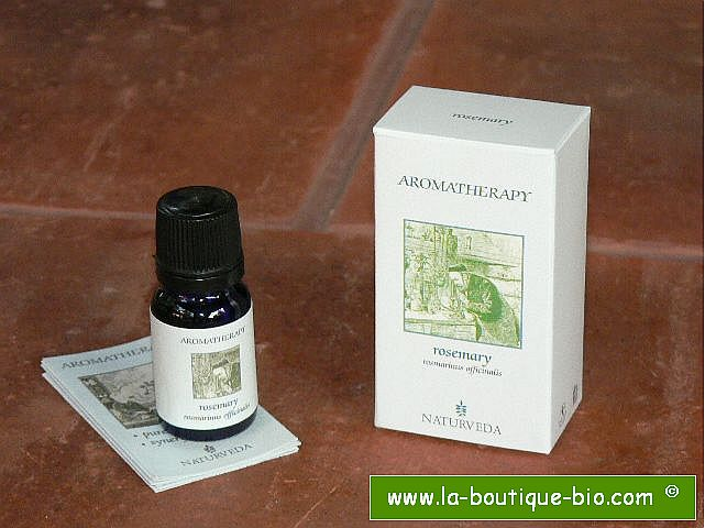 <b>EO - ROSEMARY</B><br>Rosmarinus Officinalis<BR>NAT - ORGANIC CULTIVATION<br>10 ml