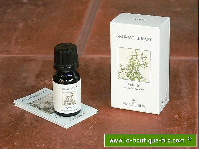 <b>EO - VETIVER</b><BR>Vetiveria Zizanoides<BR>NAT - ORGANIC CULTIVATION<br>10 ml