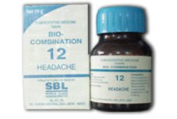 <b>12 - Bio Combination </B><br><b>HEADACHE</B><br>net 25g - SBL