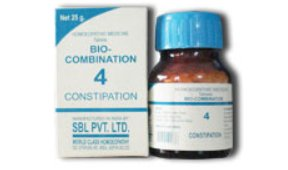 <b>04 - Bio Combination </B><br><b>CONSTIPATION</B><br>net 25g - SBL