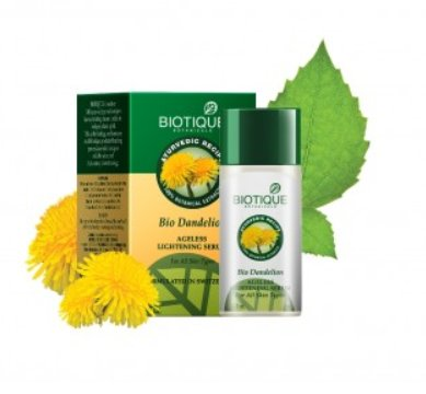 <b>FACE VITALISER</b><br>BIO DANDELION FACE VITALISER<br>35 ml<br>