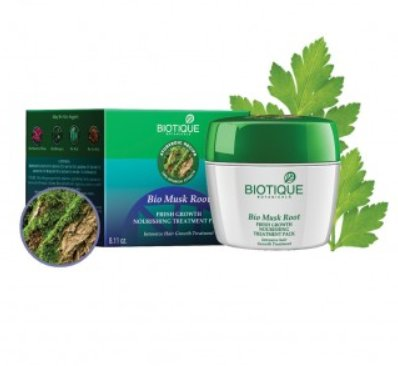 <b>HAIR REGROWTH PACK</b><br>BIO ROOT - MUSK ROOT HAIR PACK<br>230 grs