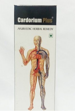 <b>CARDORIUM PLUS</b><BR>Heart diseases</b><BR>1 BOTLLE OF 300ML </b><BR>Alakananda cie