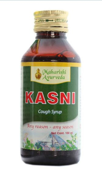 <b>MAHARISHI KASNI</B><BR>COUGH SYRUP<BR>AGA - 100 ml
