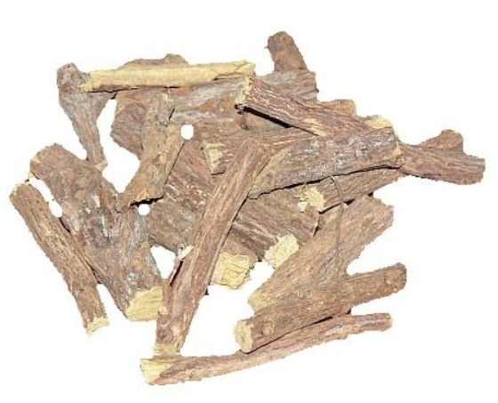 <b>LICORICE - ATHIMADURAM - PIECES</b><br>Glycyrrhiza Glabra<br>AGA - ORGANIC AND WILD<br>100 grs