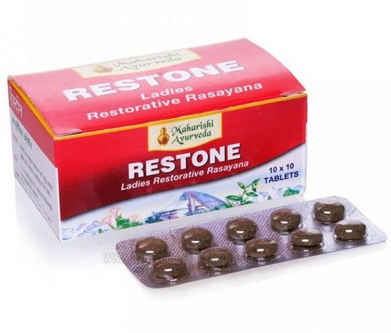 <b>MAHARISHI RESTONE</B><BR>AGA - 1 blister of 10 tablets
