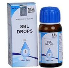 <B>SBL GOUTTES No 1 - Hair fall and Dandruff</B><br> 1 bottle of 30ml <br> SBL cie