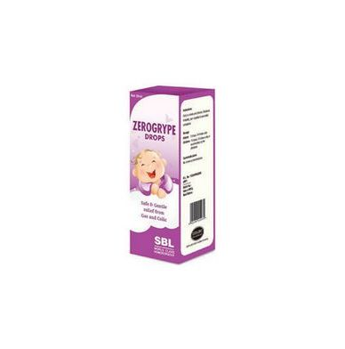 <b>ZEROGRYPE - Gas and Colic in children</B><br>1 bottle of 30ml<br> SBL cie